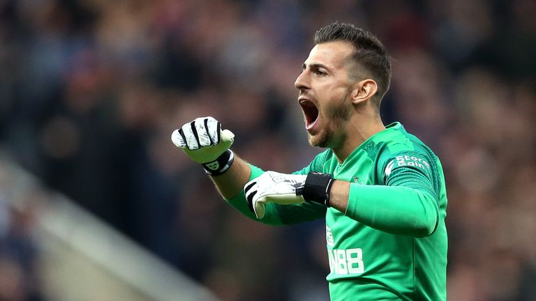 Dubravka signed a new six-year contract earlier this season